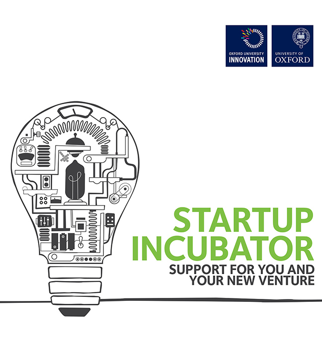 Startup Incubator - Oxford University Innovation