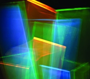 Artwork of Colour PV cells