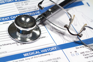 patient medical history record
