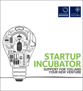 Publication cover image from Startup Incubator brochure file