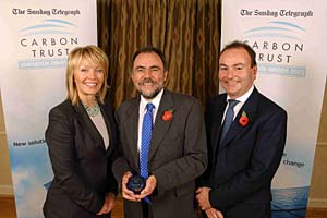 Image from Carbon Trust Awards; Win for Oxford Fuel Cell Invention News Article