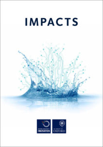 Publication cover image from Impacts 2016 file