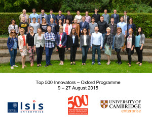 Image from Oxford, Cambridge host Top 500 Innovators programme from Poland News Article