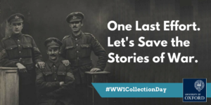 Image from Oxford University leads national effort to save WW1 memories News Article