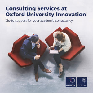 Publication cover image from Consulting Services at Oxford University Innovation file