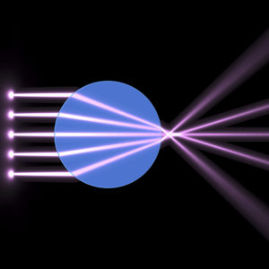 Image from Licence Details: Multifunctional device for focusing light through an optical component