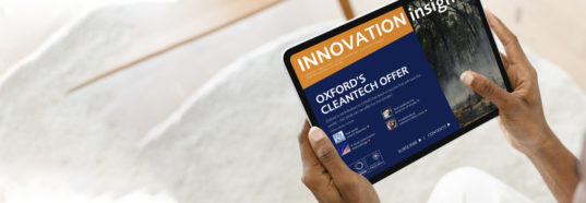 Homepage image: Oxford University Innovation Ltd.